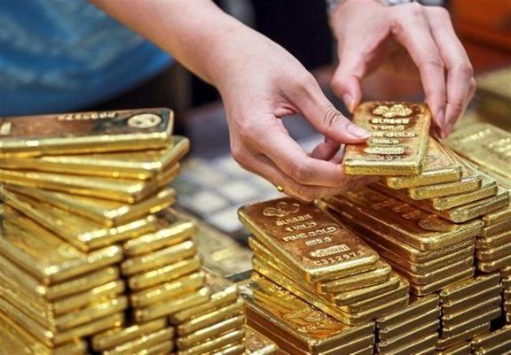 کاهش قیمت طلا امروز به ۱۸۱۰ دلار و ۵۴ سنت