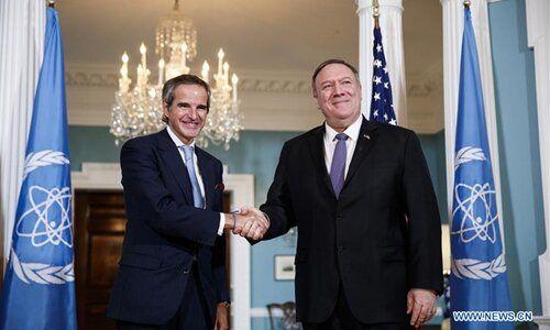 وزیرخارجه آمریکا با مدیرکل آژانس اتمی دیدار کرد