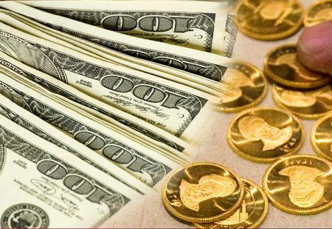 قیمت سکه و ارز در معاملات امروز / سکه 4 میلیون و840 هزار تومان  به فروش رسید