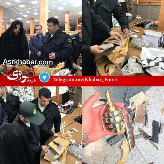 یک زن در یک بانک تهدید به بمب گذاری کرد/ عامل تهدید به بمب گذاری در یکی از بانک های چهارراه فرمانیه دستگیر شد