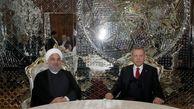 حسن روحانی با اردوغان و امیر قطر دیدار و گفتگو کرد + عکس