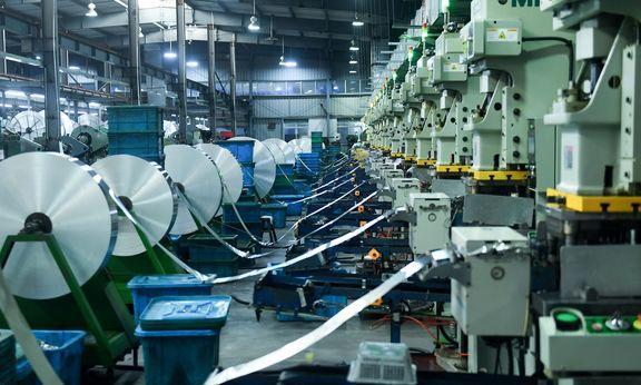 رشد قابل توجه تولید صنعتی حوزه یورو در ماه فوریه