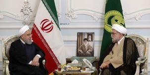 رئیس جمهور با تولیت آستان قدس رضوی دیدار کرد+ عکس