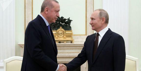 گفتوگوی تلفنی اردوغان و پوتین درباره روند آتشبس در ادلب