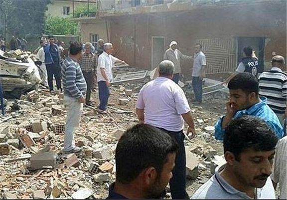 انفجار مهیب در مرز ترکیه و سوریه