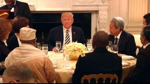 ترامپ فرا رسیدن ماه رمضان را به مسلمانان  تبریک گفت