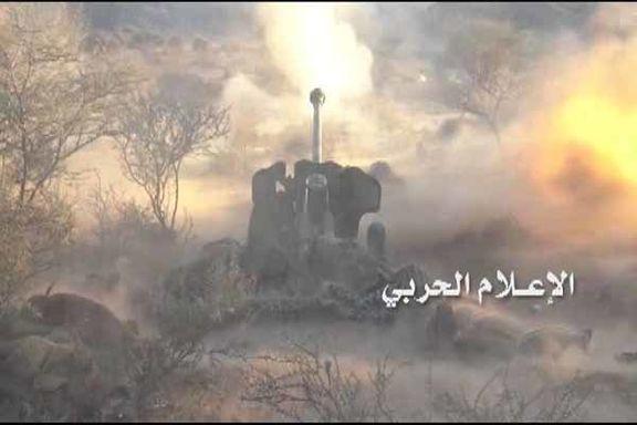 عملیات توپخانه ای یمن در جنوب غرب عربستان