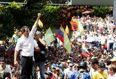 طرفداران خوان گوآیدو به خیابان های ونزوئلا آمدند