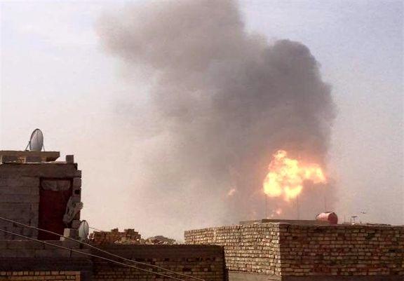 وقوع چندین انفجار پیاپی در بغداد