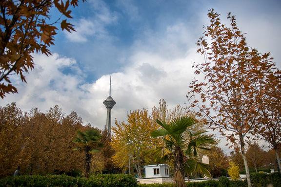 وزش باد در تهران شاخص میانگین کیفیت هوا را از عدد ۱۴۰ به ۱۰۷ رساند