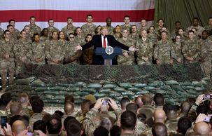 دونالد ترامپ از آمادگی برای استقرار ارتش در میناپولیس خبر داد