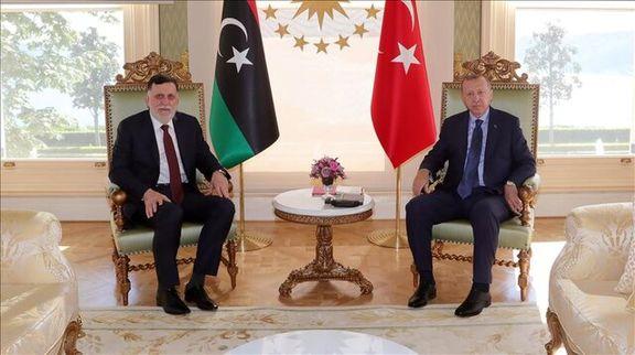 رئیس جمهور ترکیه با نخستوزیر لیبی دیدار کرد