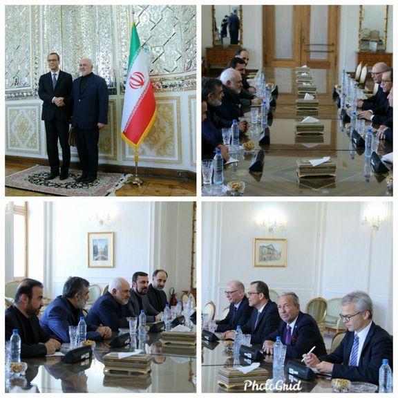کورنل فروتا با محمدجواد ظریف دیدار کرد