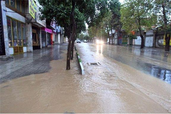 سازمان هواشناسی نسبت به وقوع سیلاب در 6 استان کشور هشدار داد
