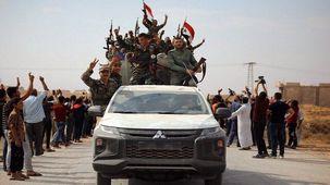 ارتش سوریه وارد رقه میشود