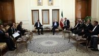گفتگو ی ظریف و معاون وزیر خارجه قرقیزستان در خصوص همکاریهای ترانزیتی
