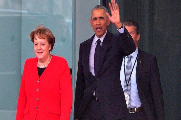 باراک اوباما با آنگلا مرکل دیدار کرد