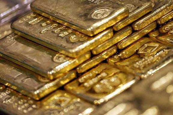 قیمت طلا به پایین سطح دو هفته اخیر خود رسید