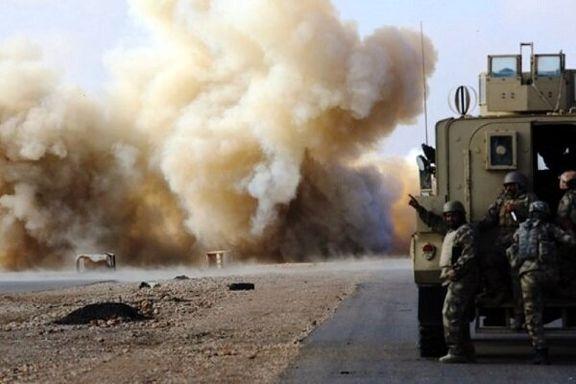 دو کاروان لجستیک امریکا در عراق مورد حمله انفجاری قرار گرفت