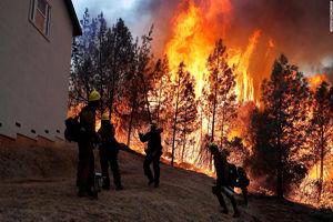 آتش سوزیهای کالیفرنیا چقد خسارت برداشت؟