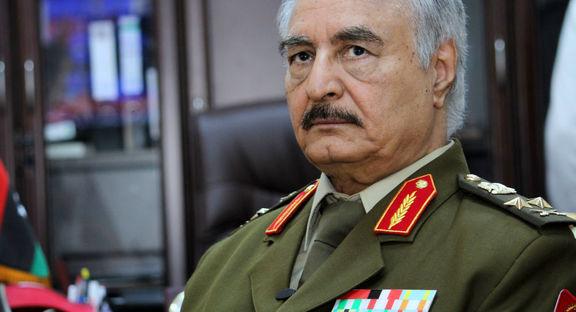 ورود خلیفه حفتر، فرمانده ارتش ملی لیبی به مسکو