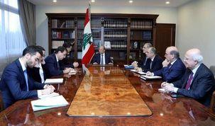 رئیس جمهور فرانسه به همتای لبنانی گفت: باید اصلاحات را انجام دهید