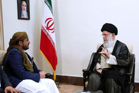 ماجرای خنجر سخنگوی جنبش انصارالله یمن در دیدار با رهبر انقلاب چه بود؟ عکس