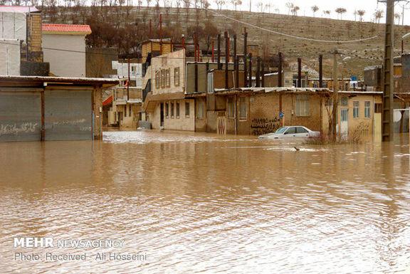 خسارت سیل به هزاران واحد مسکونی و تجاری در دلفان لرستان