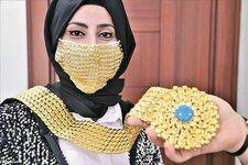 ساخت ماسک از طلا/ شکاف طبقاتی به ماسک هم رسید