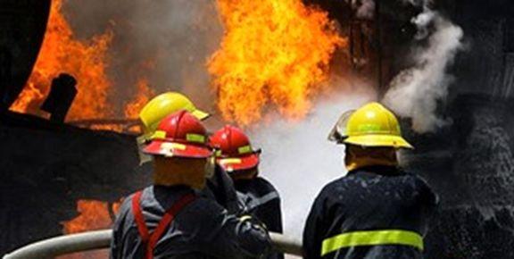 حادثه آتشسوزی در موتورخانه هتل فردوسی