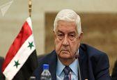 سفر وزیر خارجه سوریه به روسیه