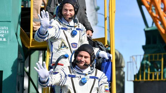 موشک سایوز حامل یک فضانورد آمریکایی و روسی دچار نقص فنی شد