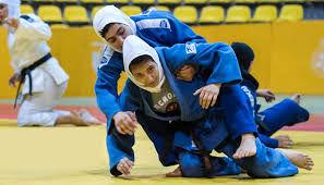 قهر مسوول مسابقات بعد از دست ندادن «آزیتا شکاری»، قهرمان جودوکار ایرانی  + فیلم