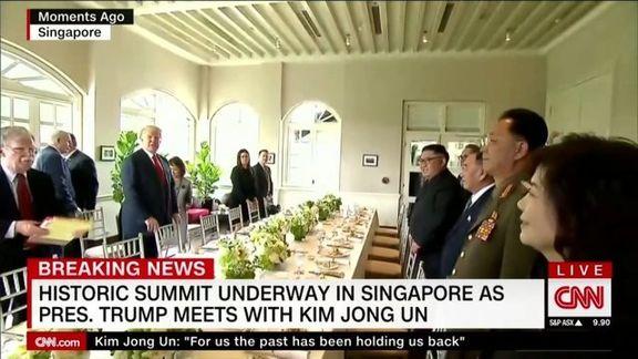 دونالد ترامپ و کیم جونگ نهار چه خواهند خورد؟
