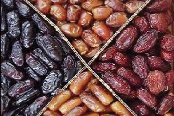 قیمت انواع خرما در بازار