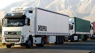تردد کامیونهای ایرانی در مرزهای افغانستان