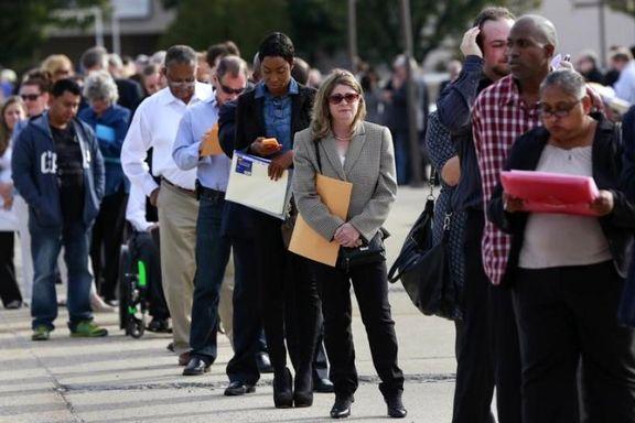 تعداد بیکاران هفتگی آمریکا دوباره افزایش یافت