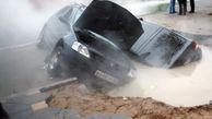 فوت 3 نفر در حادثه بامداد امروز  میدان کشاورز قم + ویدئو
