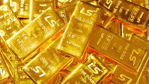 قیمت طلا در بازار جهانی با کاهش قیمت همراه شد