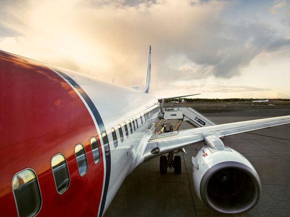 هواپیمای مسافربری نروژی به دلیل تهدید به بمب گذاری تخلیه شد