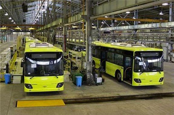 تولید خودرو در سال 97 حدود 37 درصد کاهش یافت / تولید ون و اتوبوس 90 درصد کاهش یافت