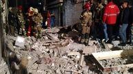 انفجار کپسول گاز در محله چهارراه خط آهن/ یک مادر و دختر دچار سوختگی شدند + عکس