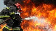 کارخانه فومسازی شهرک صنعتی 2 اردبیل آتش گرفت