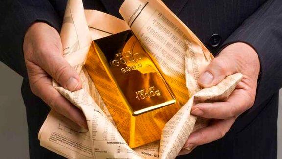 قیمت طلا با ریزش همراه شد/هر انس طلا 1827 دلار