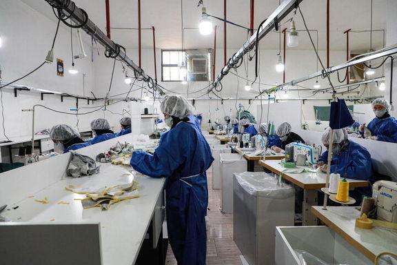 تولید انواع ماسک در سال ۹۹ با افزایش ۱۳۷ برابری مواجه شد