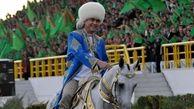 دستگیری افرادی که ماسک به صورت دارند در ترکمنستان