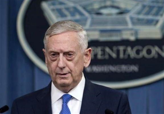 متیس: امیدواریم بشار اسد پیام حمله ما را دریافت کرده باشد