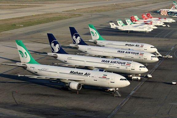 طرح کاهش پروازهای داخلی تا پایان پنج شنبه ۴ شهریور ادامه دارد