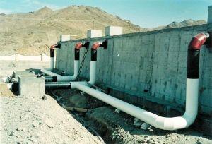 خط انتقال آب چاه زاهدان قطع شد