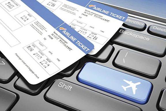 سقوط قیمت بلیت هواپیما با کاهش تقاضای مردم